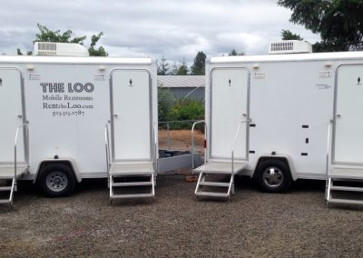 Two Loo Restroom Trailers